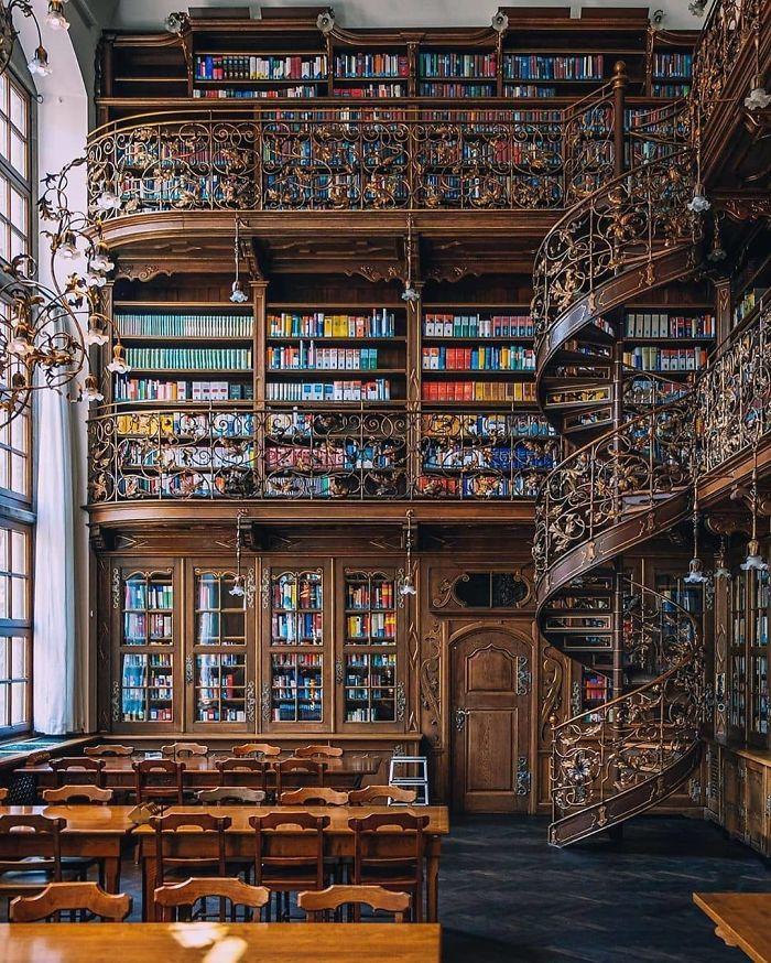 Biblioteca alucinante