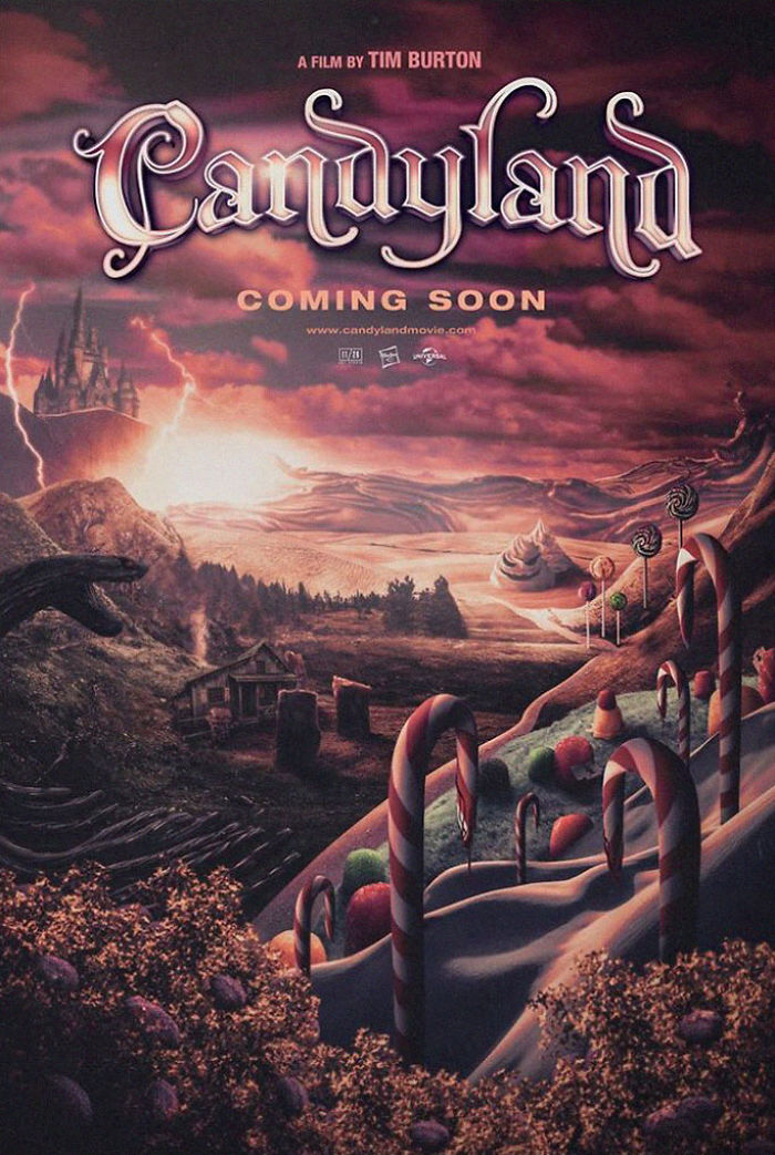 Candyland created by Justin Bryant