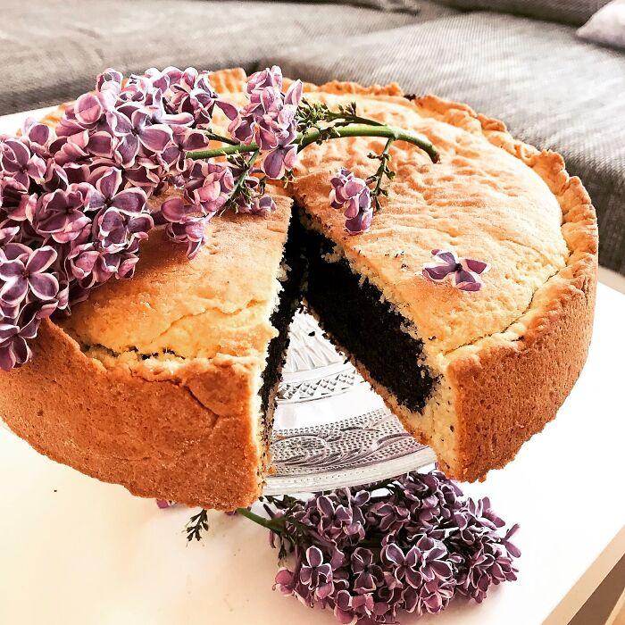 Poppy Seed Pie :)