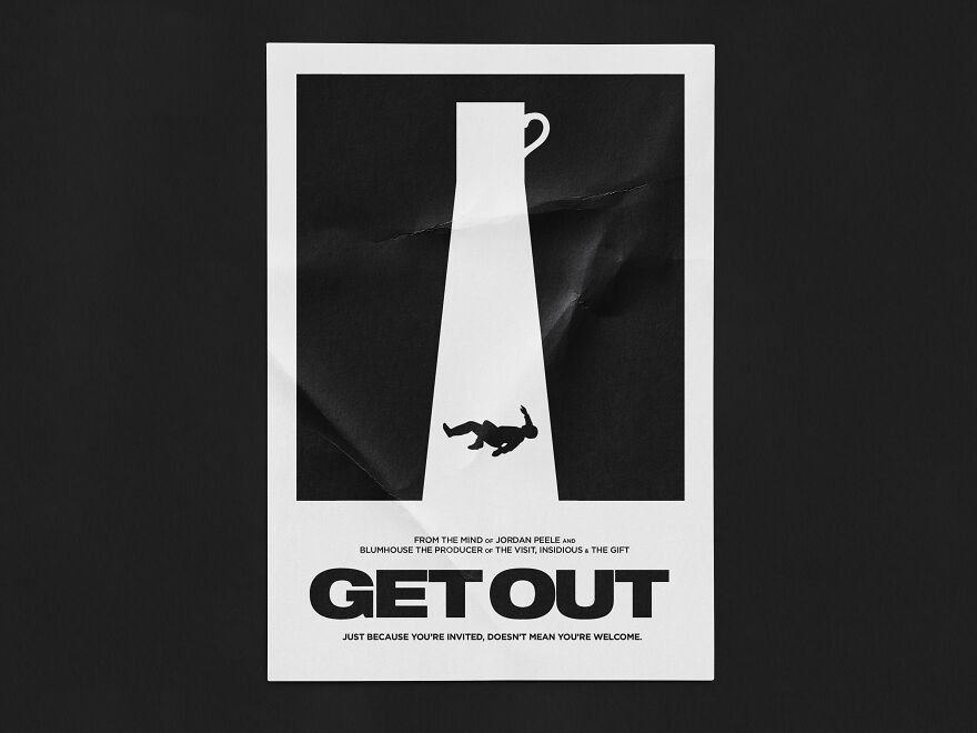 I Recreated My Favorite Spooky Film Posters This Year As I Didn't Want Halloween To Be Canceled