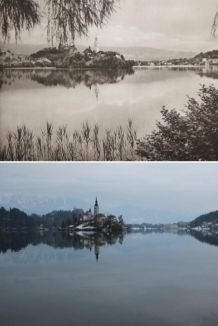 Bled, Eslovenia, 1926 vs. 2018