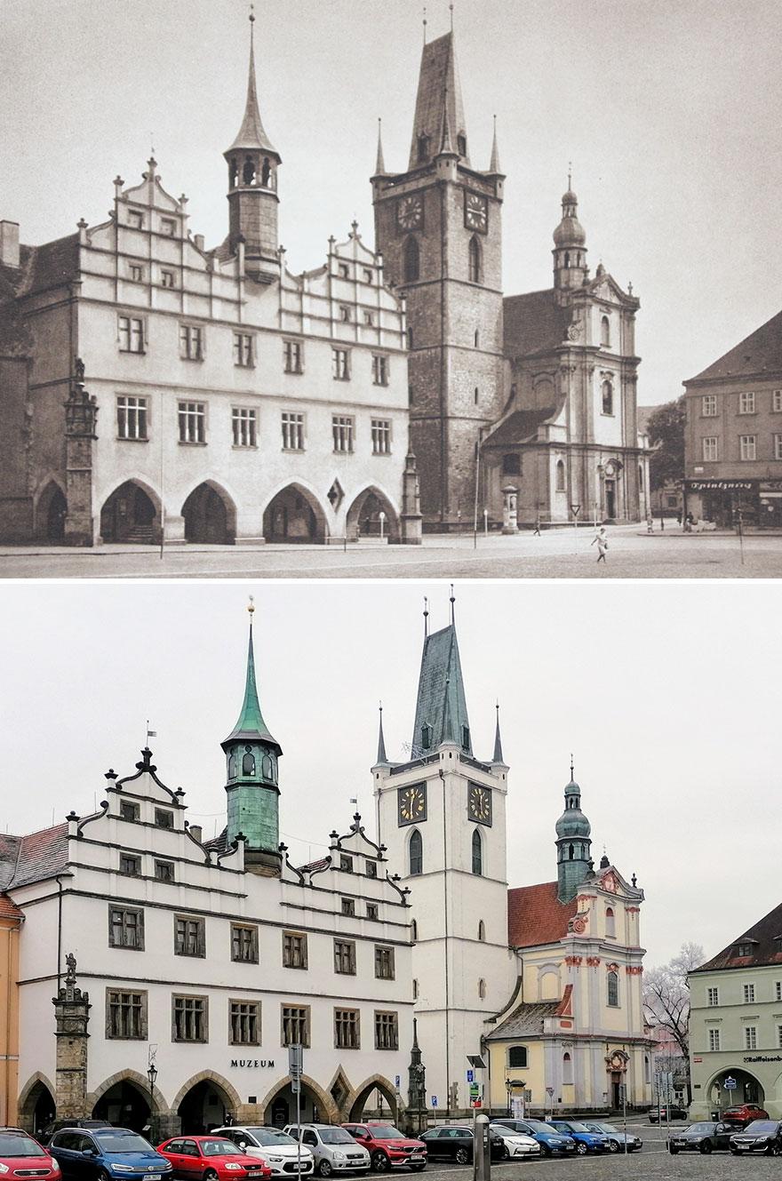 Litoměřice, Czech Republic, (Photo Published In) 1941 vs. 2020