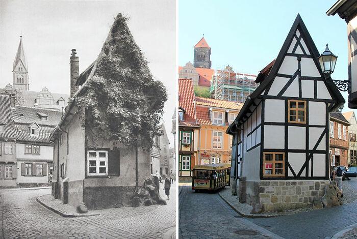 Quedlinburg, Alemania, 1924 vs. 2020