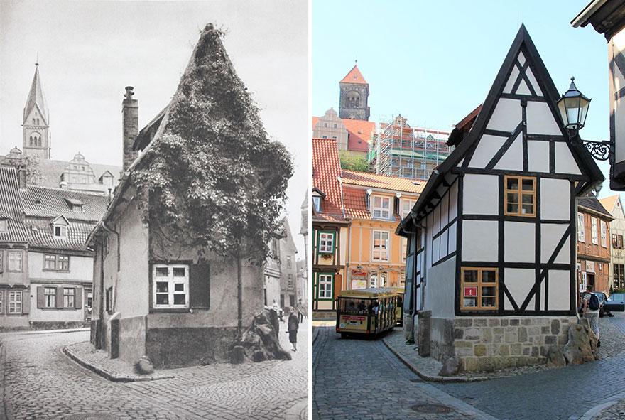 Quedlinburg, Germany, 1924 vs. 2020