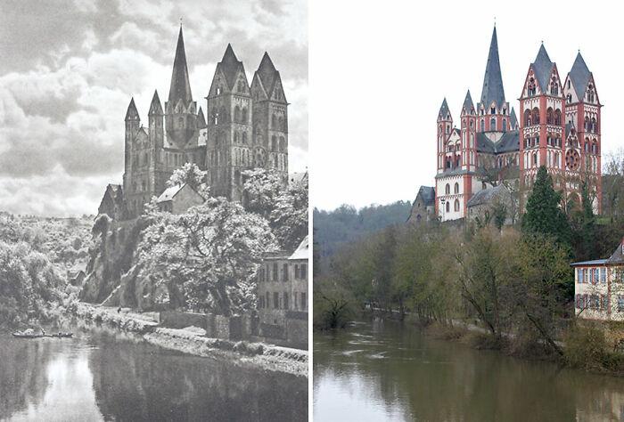Limburg An Der Lahn, Alemania, 1924 vs. 2019