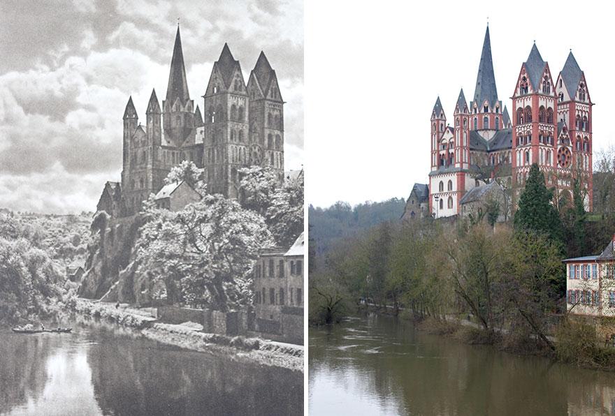 Limburg An Der Lahn, Germany, 1924 vs. 2019