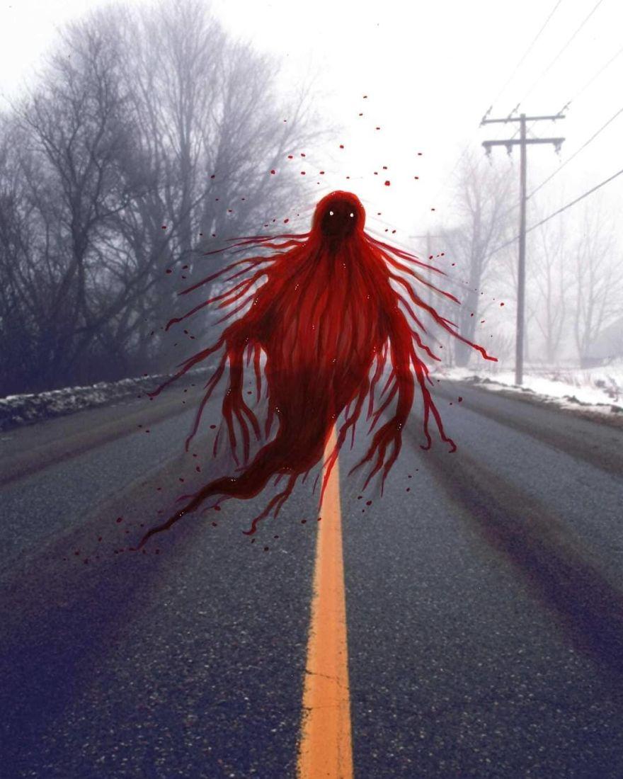 The Crimson Apparition Of Waverley Road