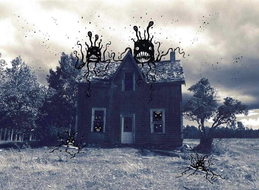 We Don't Dare Go Near The Grimsley House