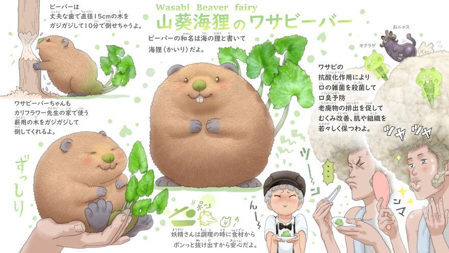 Wasabi Beaver