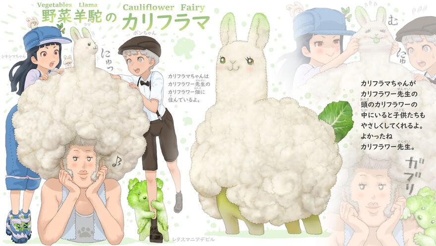 Cauliflower Llama
