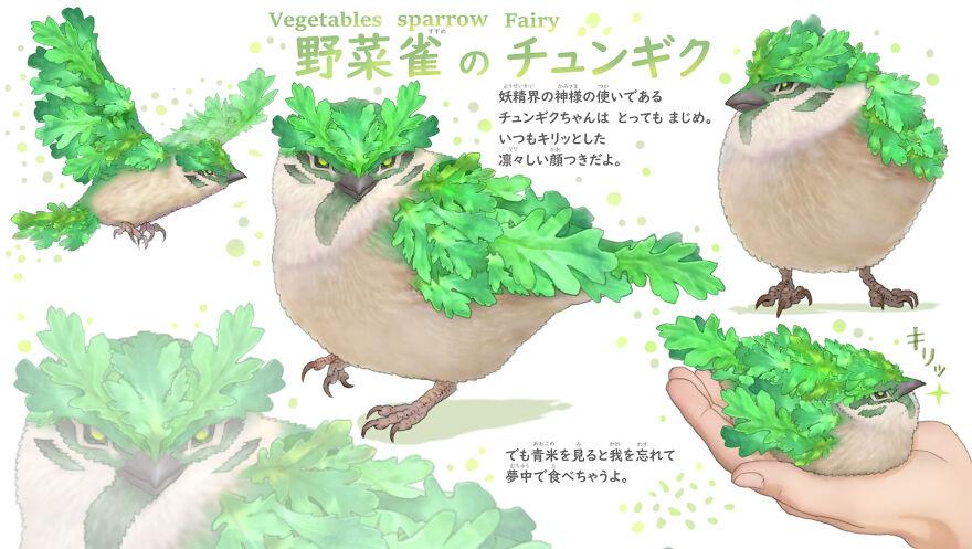 Vegetable Sparrow