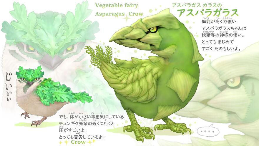 Asparagus Crow