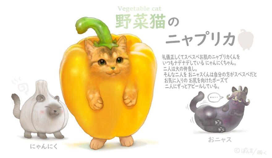 Bell Pepper Cat