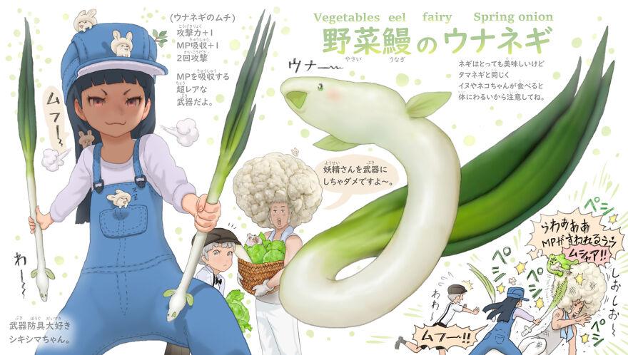 Spring Onion Eel