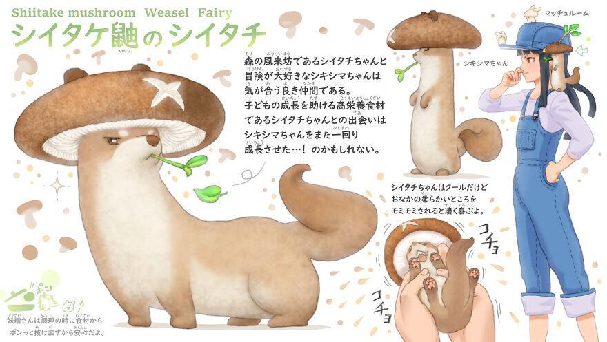 Shiitake Mushroom Weasel