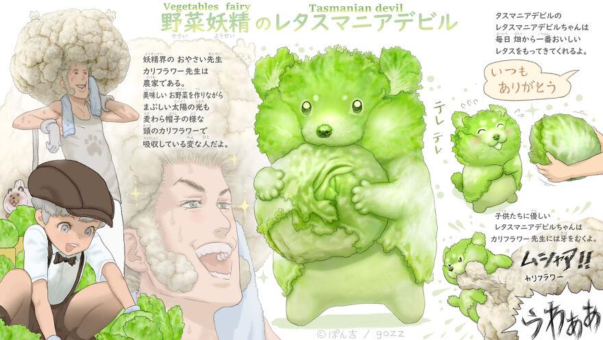 Cabbage Tasmanian Devil