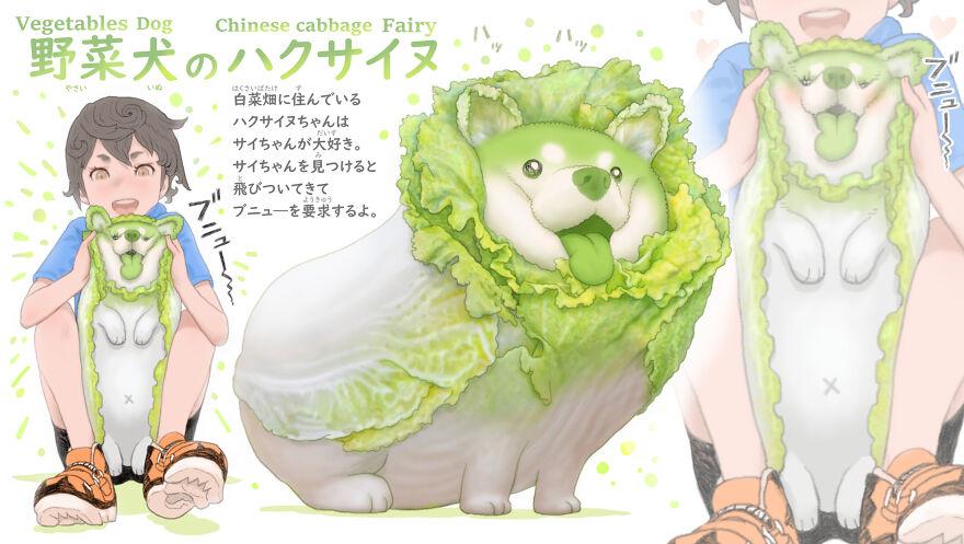 Chinese Cabbage Dog