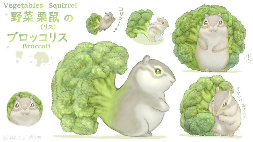 Broccoli Squirrel
