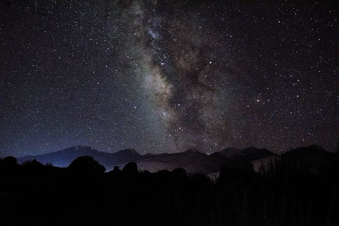 A Starry Night In Ladakh (India)