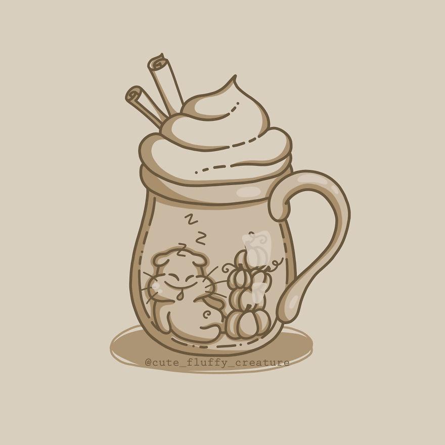 Balkabağı Baharatlı Latte için Kim Var?