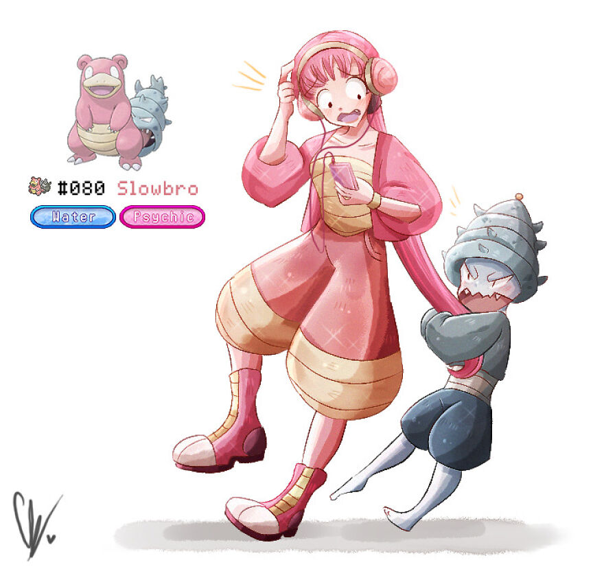 Lowise And Sheldon The Slowbro