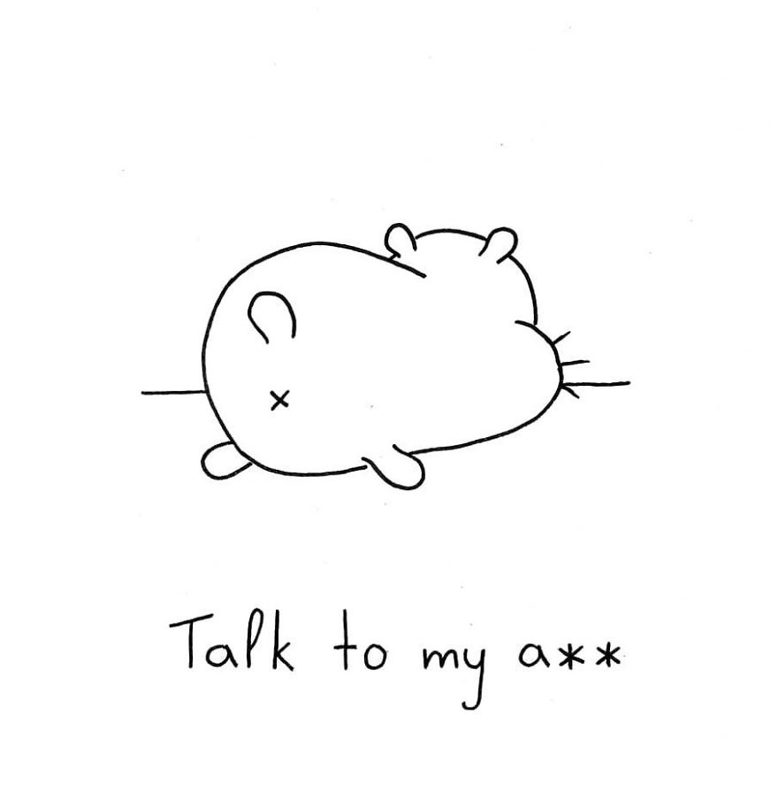 This Is How I Look Like When I Don't Want To Talk With Others