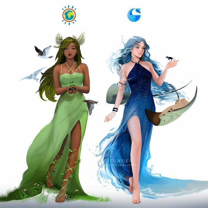Ecosia & Oceanhero (Browsers)