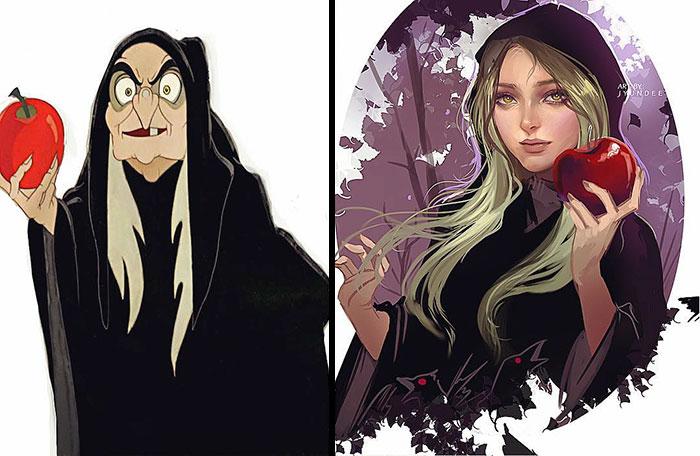 4. Queen Grimhilde A.K.A. Evil Queen (Snow White And Seven Dwarfs)