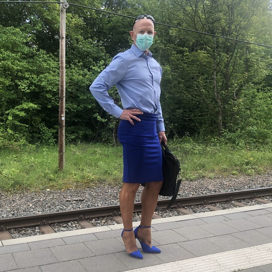 Skirts And Heels Are Not Just For Women This Guy Proves That Perfectly 30 Pics Bored Panda