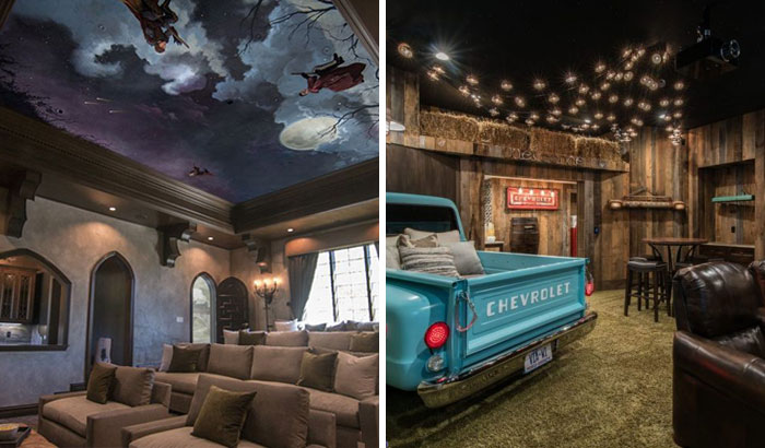 30 Times People Invested And Built Themselves A Totally Cool Home Movie Theater