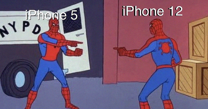 People Are Making Fun Of The New iPhone 12 In 30 Hilarious Memes