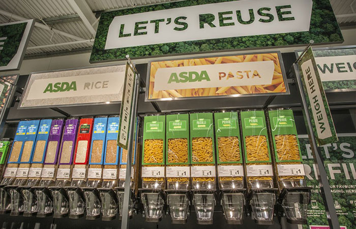 In Order To Reduce The Use Of Single-Use Plastic, ASDA Launches Its First 'Sustainability Store' Where You Can Shop Plastic-Free