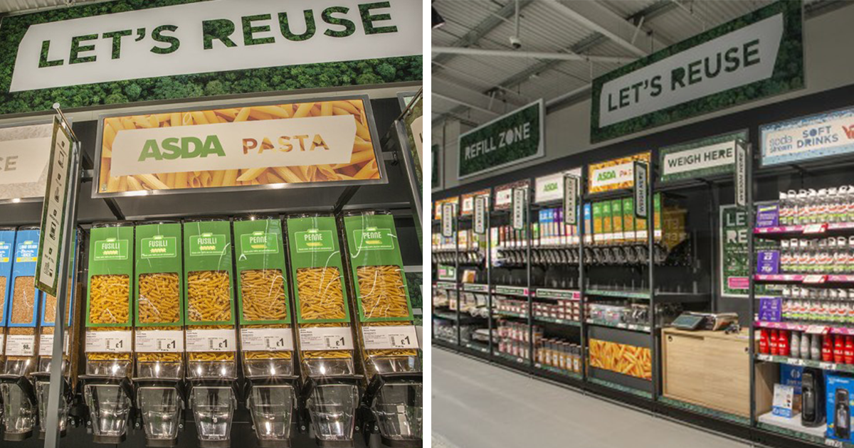 ASDA Opens 'Sustainability Store' That Sells Cereal In Refillable Containers And Fruit Is Sold Loose