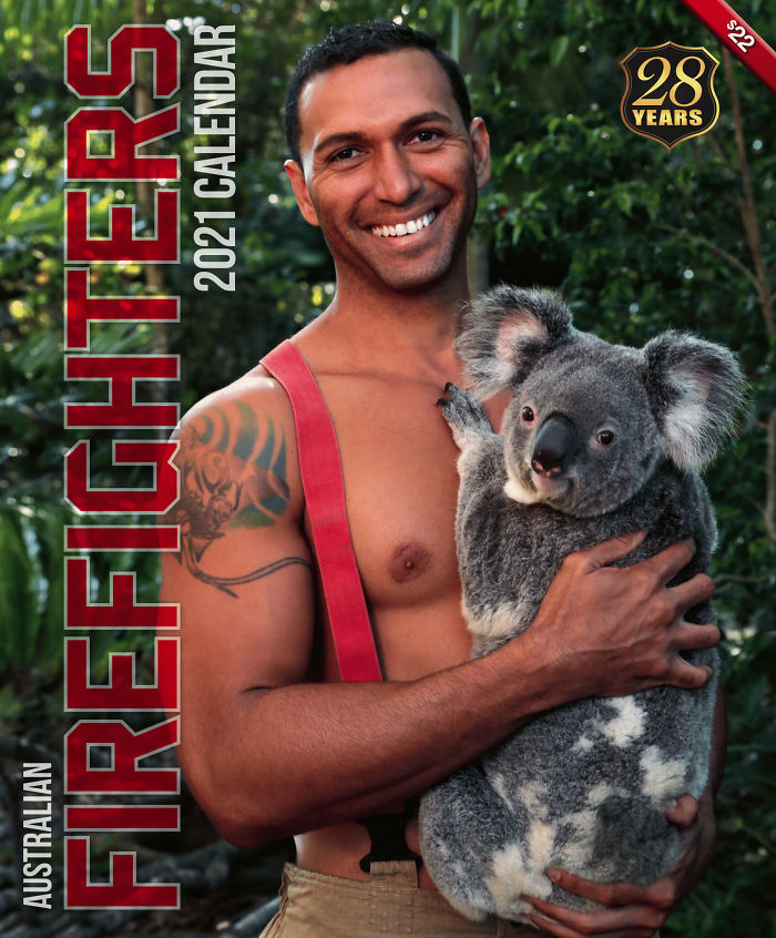 Australian-Firefighters-Animals-Calendar-2021