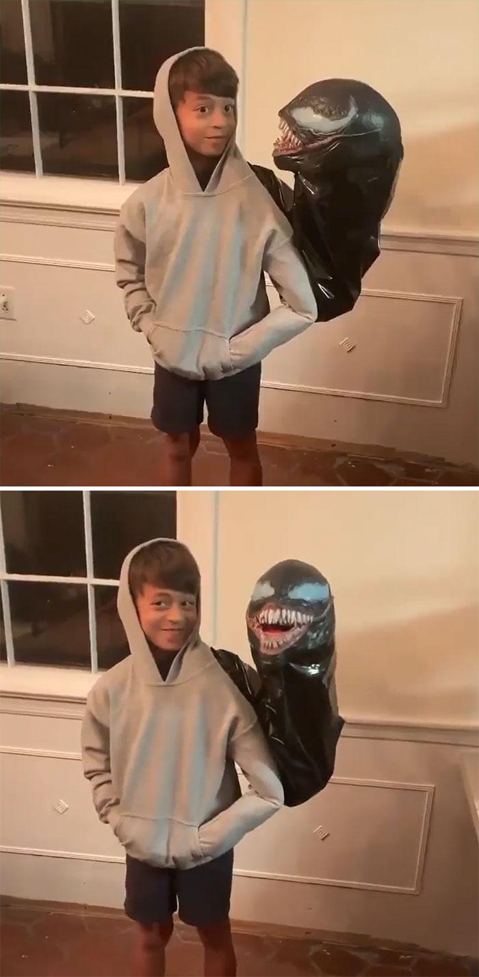 He Wins Halloween