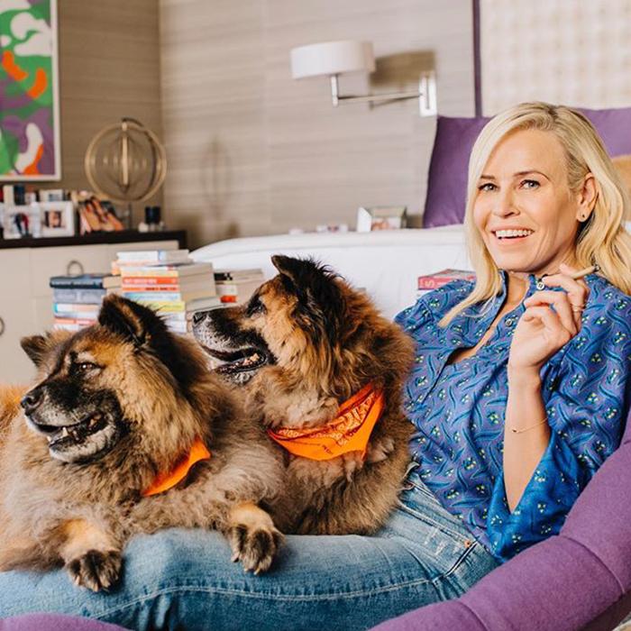 Chelsea Handler & Bert And Bernice