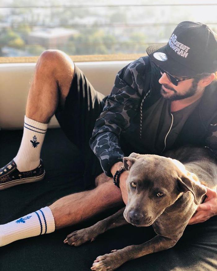 Zac Efron & Maca