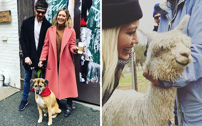 Hilary Duff & Lucy And Ivan