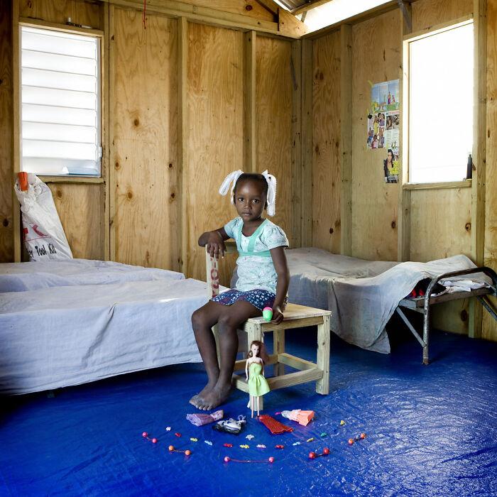 Bethsaida, 6 años, Port-Au-Prince, Haiti