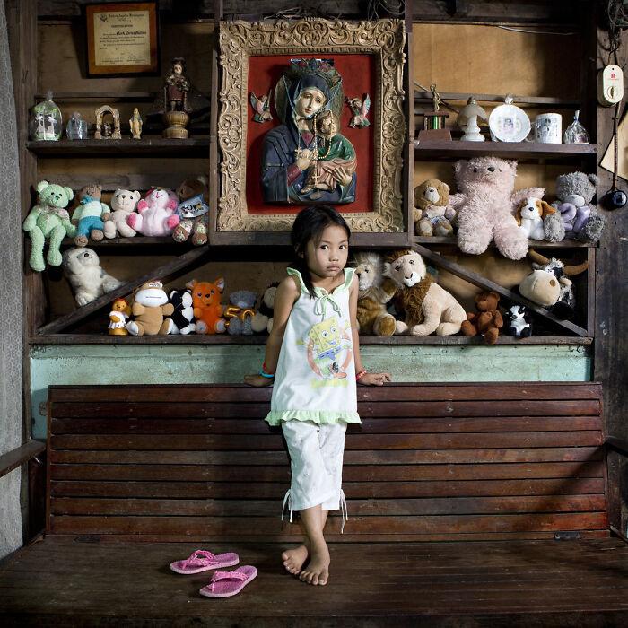 Allenah, 4 años, El Nido, Filipinas
