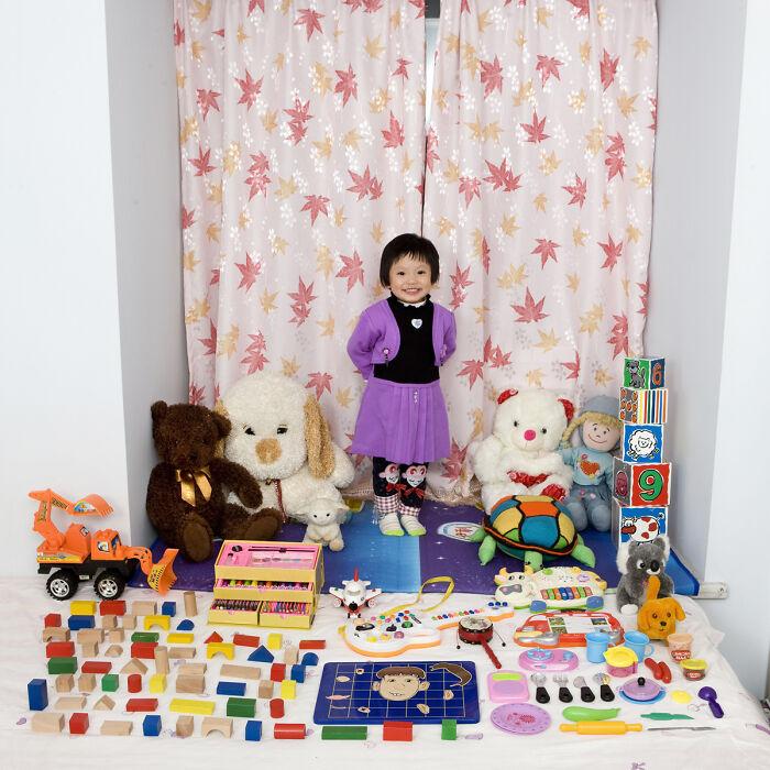 Zi Yi, 3 años, Chongquing, China