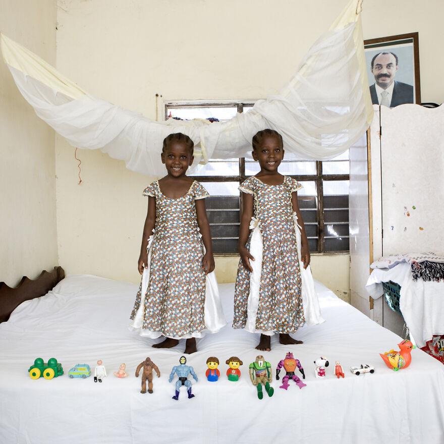 Arafa And Aisha, 4, Bububu, Zanzibar