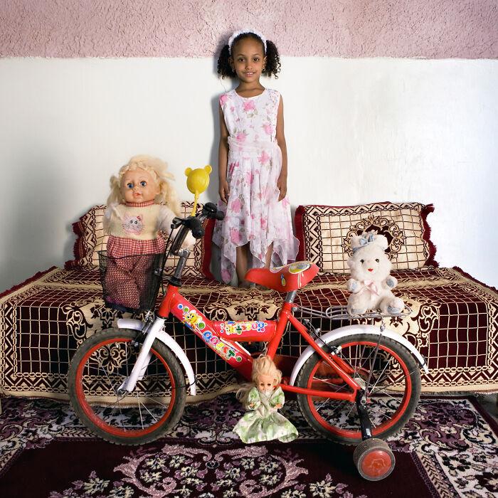 Talia, 5 años, Timimoun, Argelia