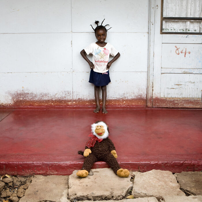 Bothe, 4 años, Maun, Botswana