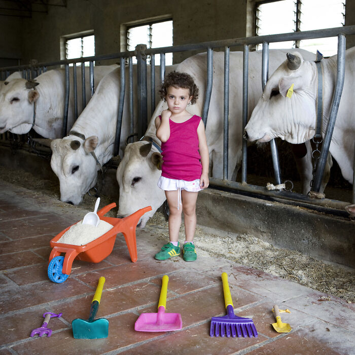 Alessia, 5 años, Castiglion Fiorentino, Italia