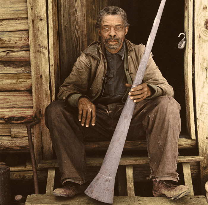 I Colourised 10 Photos From Over 160 Years Ago To Show The Horrors Of Life For Those Living Under Slavery
