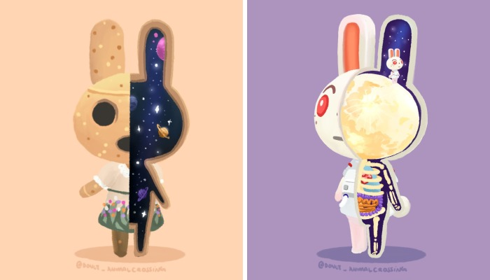 I Dissected Animal Crossing Characters (14 Pics)