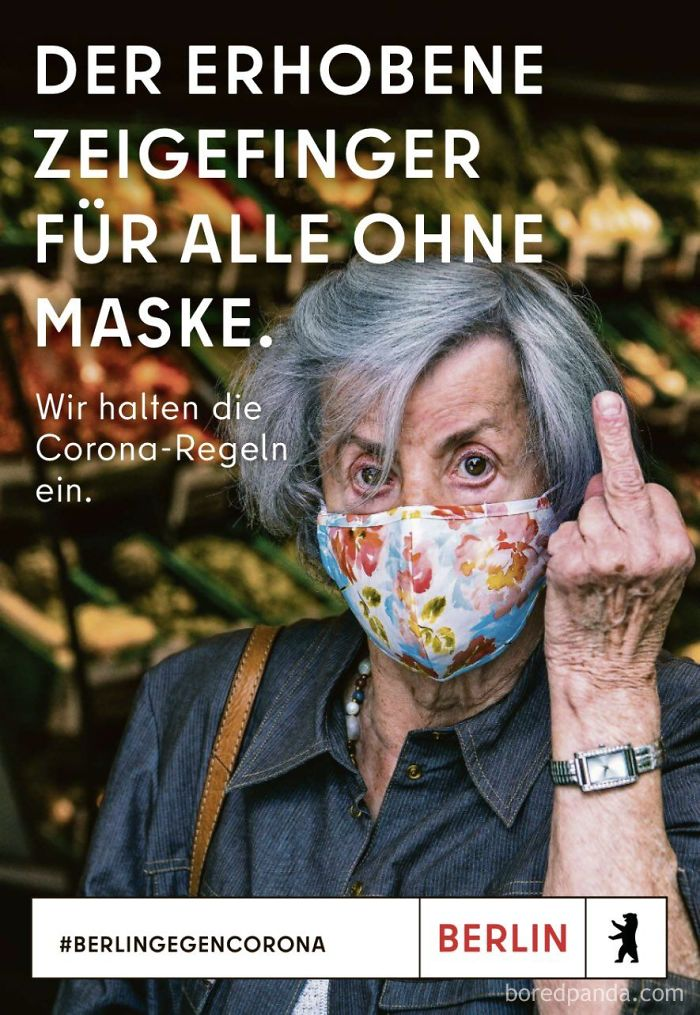 Berlin Gives Middle Finger To Anti-Maskers In Tourism Ad
