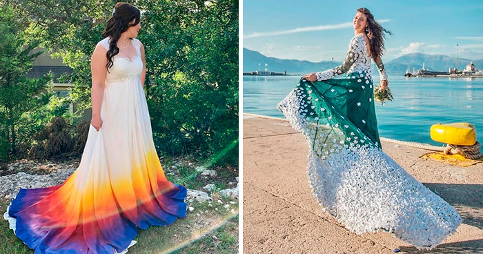 40 Times Brides Decided To Make Their Own Wedding Dresses And Looked Beyond Stunning