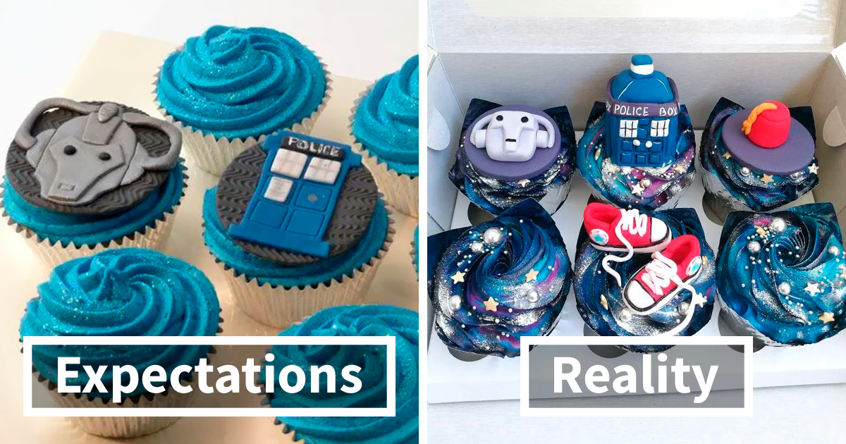 91 Genuinely Great 'Expectation Vs. Reality' Posts Where The Results Were Actually Worth The Wait